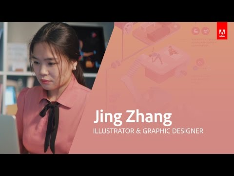 Illustration & Graphic Design with Jing Zhang - Adobe Live 3/3