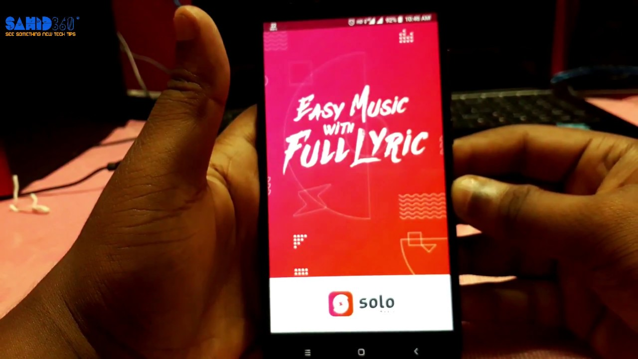 Best MUSIC Player For Android in 2018 SOLO Music player🔥🔥