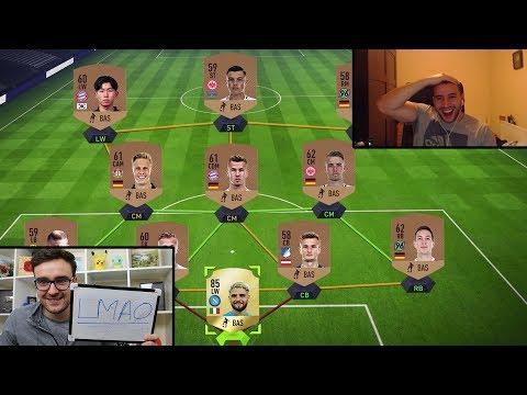 THE FIFA 18 SQUAD BUILDER SHOWDOWN PRANK!!!