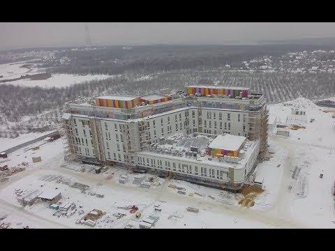 Строительство госпиталя «Мать и дитя» #Самара #Samara #Russia