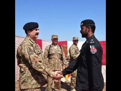 Elite Force trained by SSG commandos at Chiraat