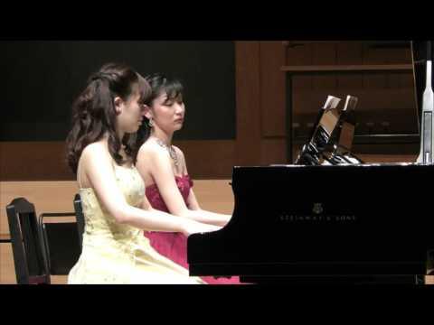 ブラームス:5つのワルツ(2台ピアノ) / Brahms Waltzes for 2 pianos, op.39 (short ver.)