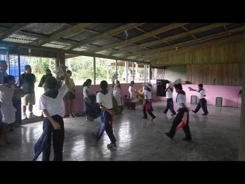 Costa Rican School Children - Traditional Dance