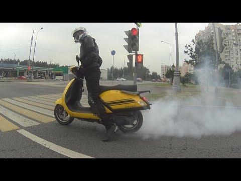 Купил скутер/Работа в яндекс еде/crf 700/порвал ремень