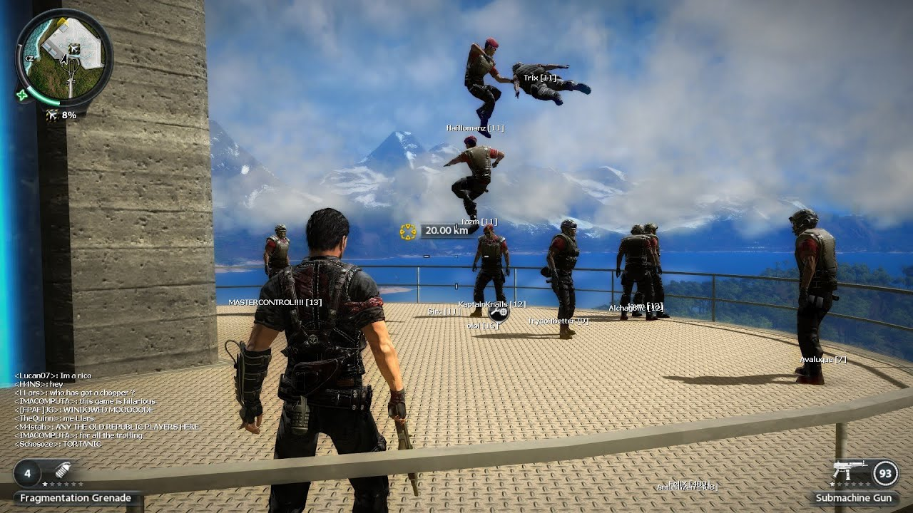 Just Cause 2 Crazy Multiplayer Live Stream - YouTube