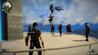 Just Cause 2 Crazy Multiplayer Live Stream