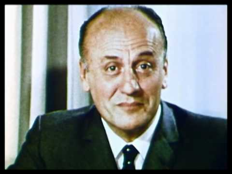 Pierre Balmain discusses fashion 1968