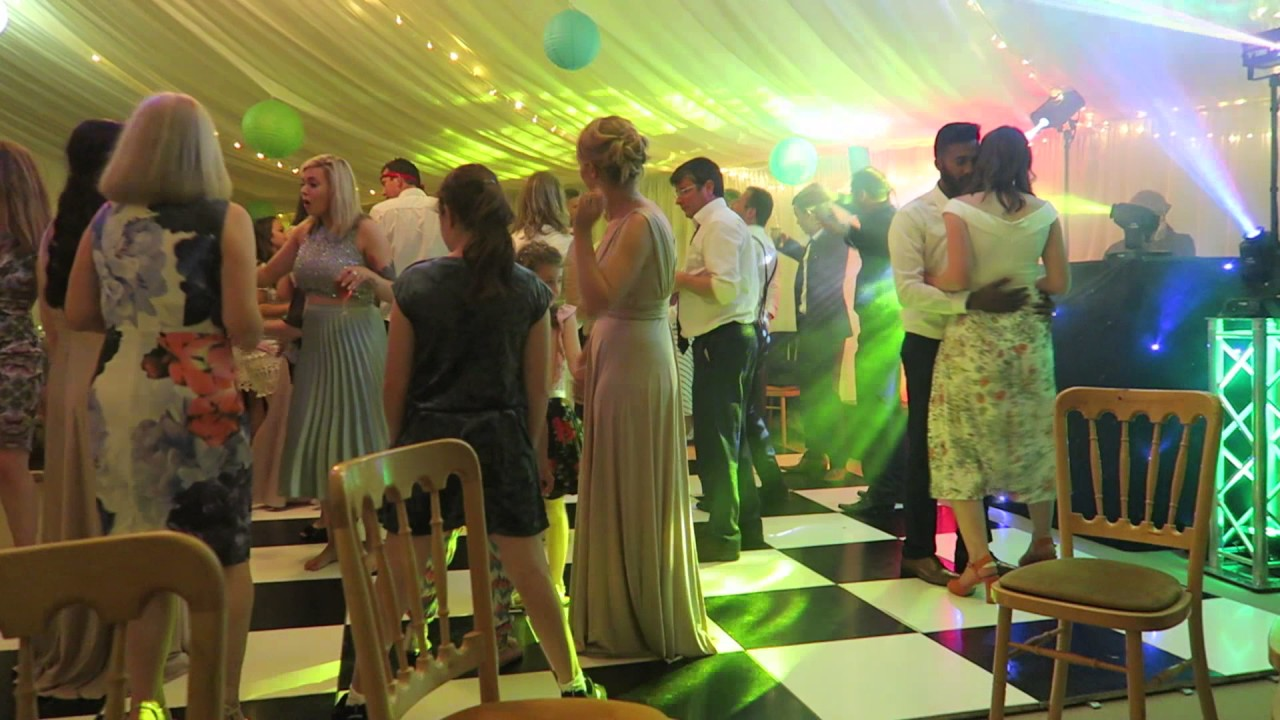 Marquee in Crantock - SoundONE Cornwall Wedding DJ - Mr and Mrs Veal