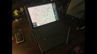 Review - Galaxy Book 12 for artists