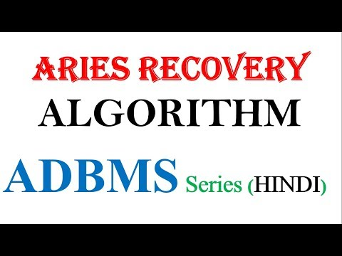 ADVANCE RECOVERY TECHNIQUES IN DBMS   WRITE AHEAD LOGGING