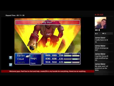Final fantasy 7: the grind is real!