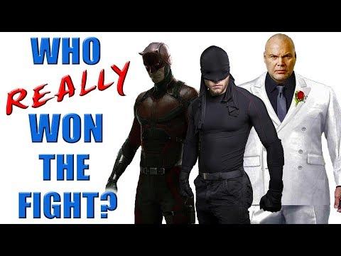 Daredevil VS Kingpin VS Bullseye - Who REALLY Won the Fight?