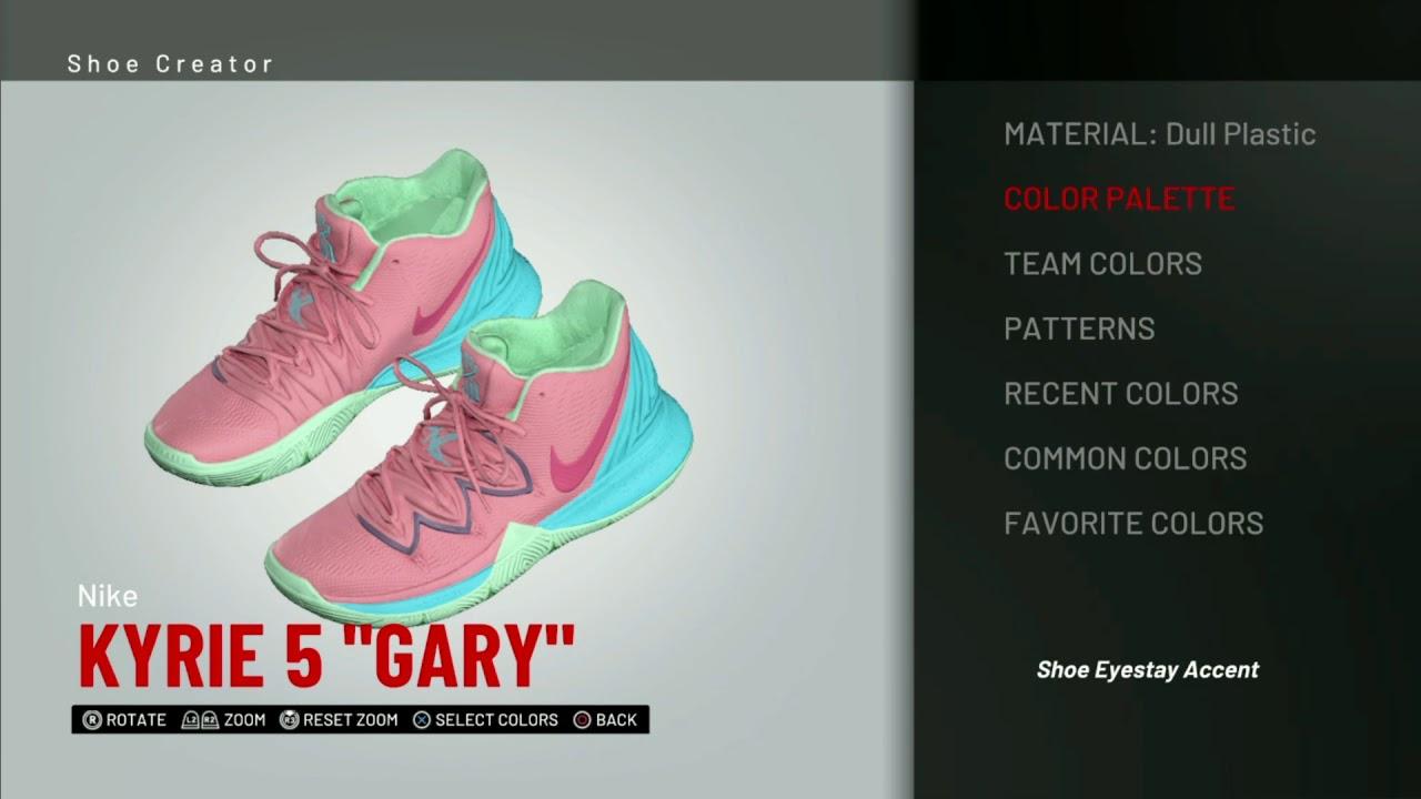 NBA 2K19 Shoe Creator | Nike Kyrie 5