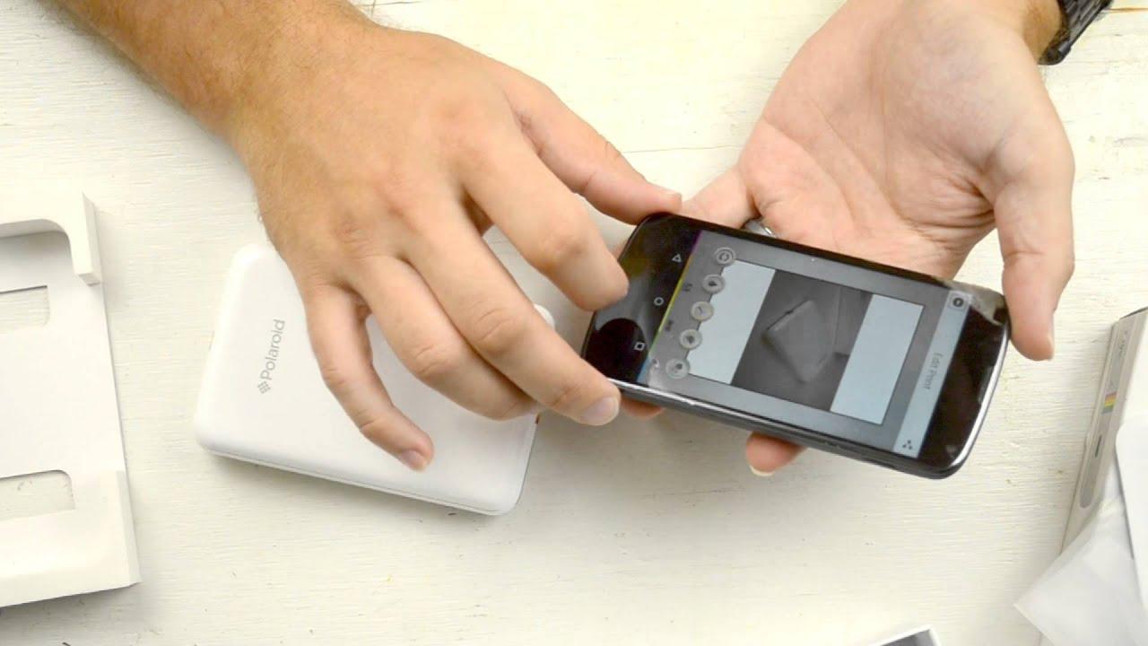 Polaroid Zip Instant Mobile Printer Review Youtube