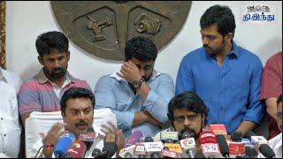 Komban Producer in Tears   Gnanavel raja   Karthi   Tamil The Hindu
