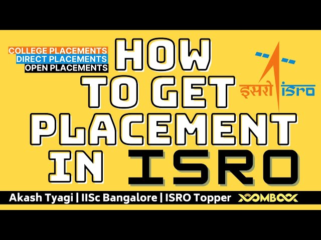 How to Get Job in ISRO Scientist Engineer | ISRO Direct Campus Placements Colleges ICRB Exam