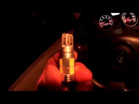рено меган 2 лампочки в габариты