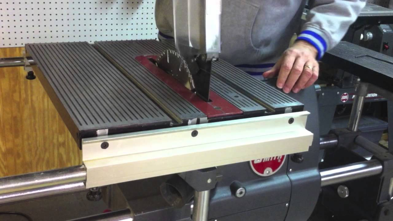 Install the saw blade and guard on a shopsmith part 1 youtube install the saw blade and guard on a shopsmith part 1 greentooth Image collections
