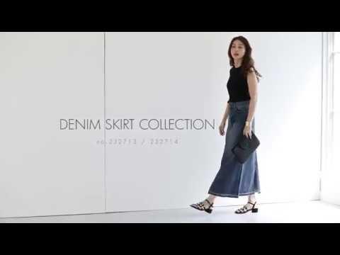 Denim Skirt Collection -STYLE DELI-
