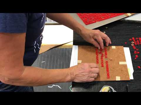 Making Signs at ASI | Signage Innovations - Iowa Manufacturing