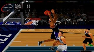 NBA ShootOut 2003 Gameplay Exhibition Mode (PlayStation)
