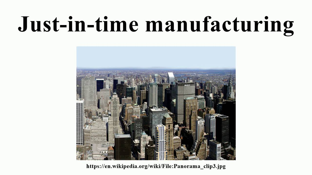 just in time manufacturing research papers Jit systems in supply chain abstract just-in-time jit is an approach with the objective your source for research papers just in time manufacturing just in.