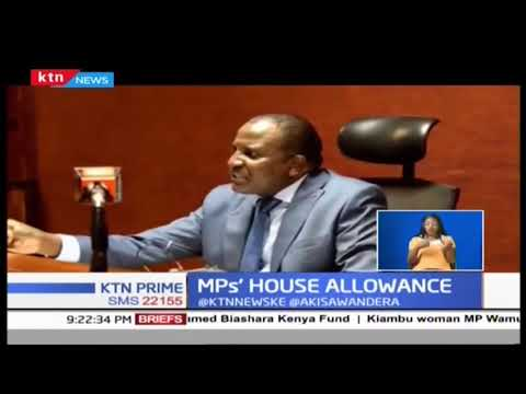 MPs House allowance issue forwarded to CJ