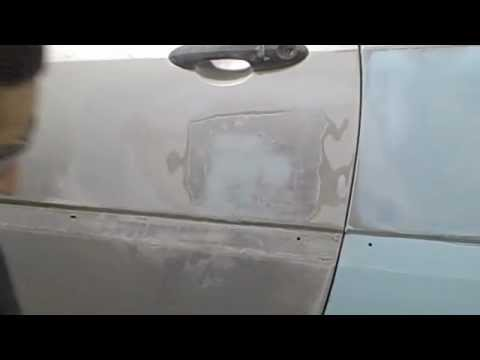 Diy How To Apply Finish Glaze Putty To A Car Panel Youtube