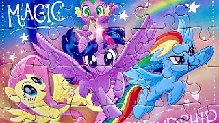 Мой Маленький Пони Пазл   Собираем Пазлы С Пони   My Little Pony Puzzle For Kids