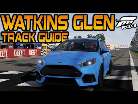 Forza Racing Championship: Watkins Glen Track Guide