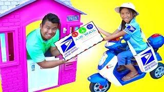 温迪玩邮局邮箱玩具