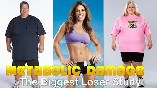 Metabolic Damage Is Real: The Biggest Loser Study