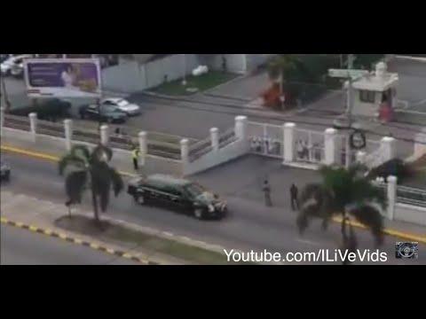 OBAMA LOVES JAMAICA and JAMAICA LOVES OBAMA 2015