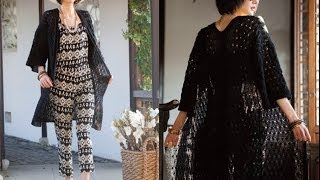 #7 Lace Duster, Vogue Knitting Spring/summer 2014
