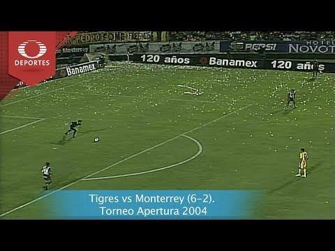 Tigres vs Monterrey (6-2). Torneo Apertura 2004 | Futbol Retro | Televisa Deportes