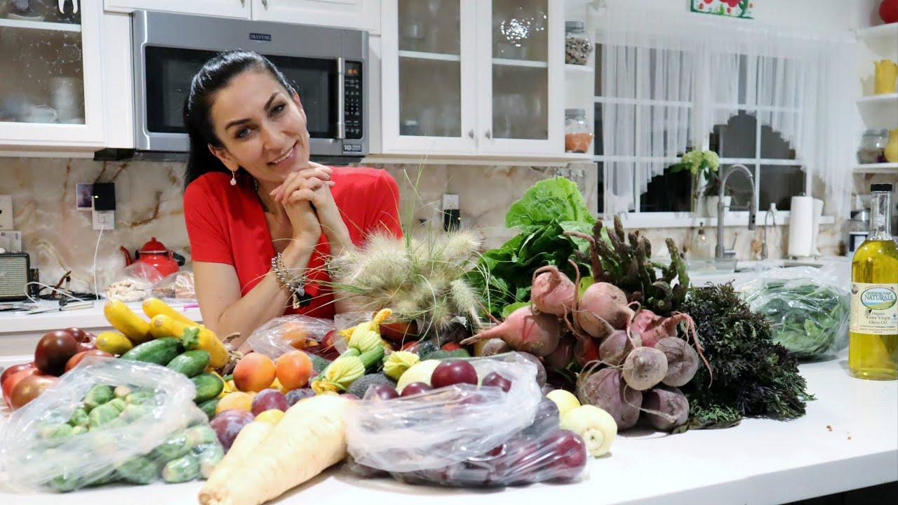 Ի՞նչ Ենք Գնել Շուկայից - Համտեսում - Farmers Market at Solvang - Heghineh Cooking Show in Armenian