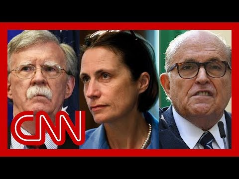 Source: Fiona Hill said Bolton called Giuliani a 'hand grenade'