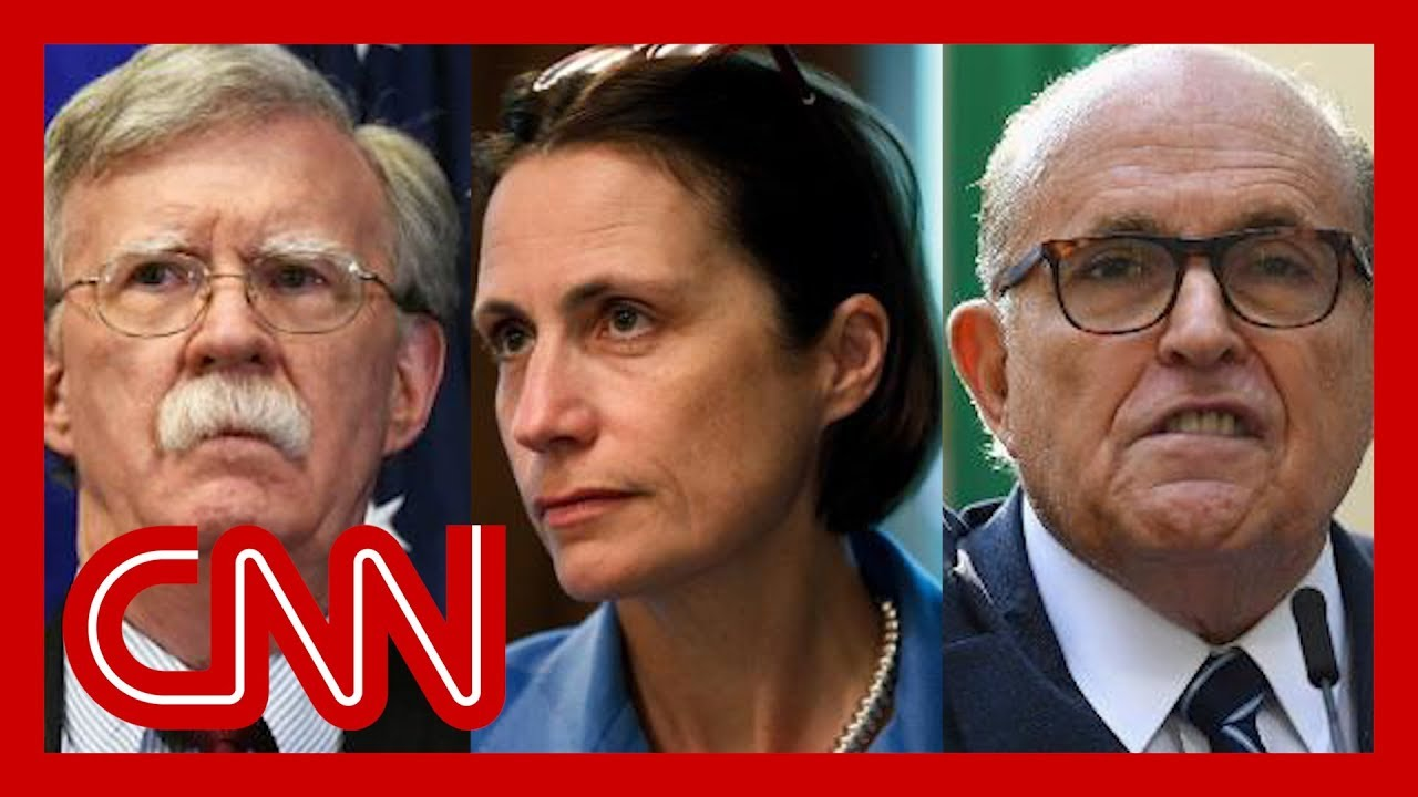 Source: Fiona Hill said Bolton called Giuliani a 'hand grenade'