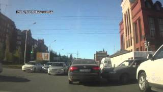 ДТП Омск: скрылся с места аварии (02.05.2016)