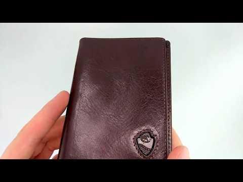 Обложка на паспорт итальянская кожа Cosset 117913