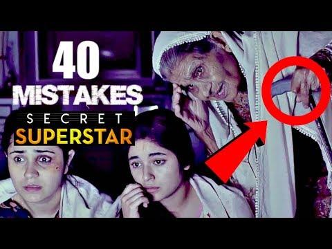 40 Mistakes In SECRET SUPERSTAR - Full Hindi Movie Mistakes Secret Superstar #2 Movie Mistakes Video