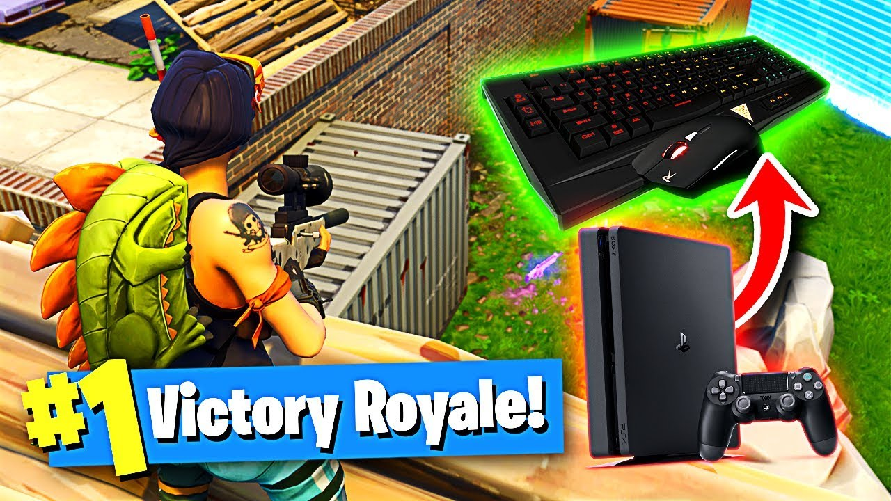 Using A Keyboard And Mouse On Ps4 To Win In Fortnite Battle Royale