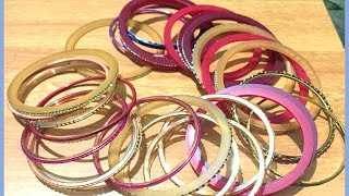 Best out of waste using waste old bangles | Waste material craft idea | Easy craft idea