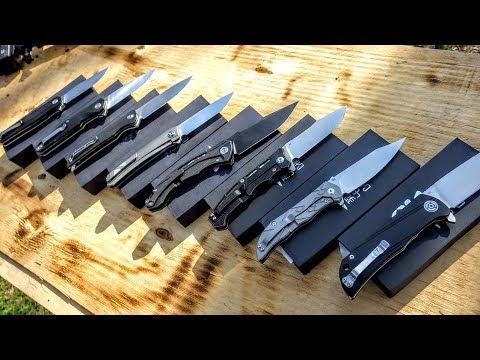 видео: Все ножи