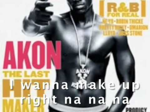 Akon--Right Now (Na, Na, Na), LYRICS VIDEO