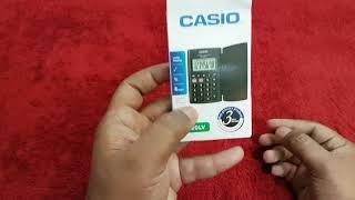 Casio HL-820LV Pocket Calculator