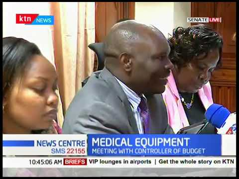 Senate Adhoc committee meets over leasing of Medical Equipment