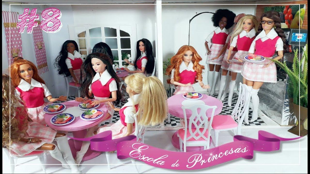 #8 NOVELA DA BARBIE - 12 PRINCESAS E 1 SEGREDO - Hora do Café da Manhã