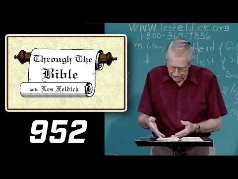 [ 952 ] Les Feldick [ Book 80 - Lesson 1 - Part 4 ] Daniel Part 1: Daniel 1:1-2:39 |d
