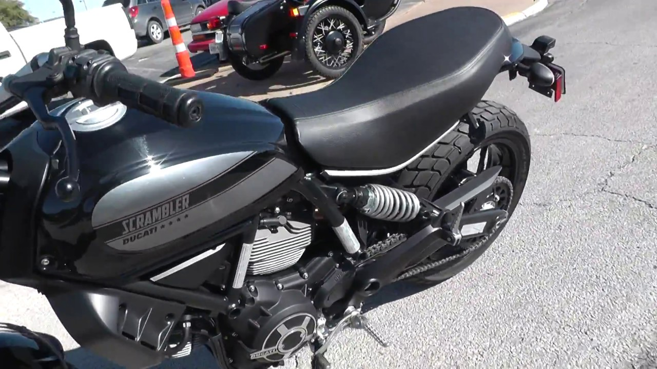 000132 2016 Ducati Scrambler 62 Used Motorcycle For Sale Youtube